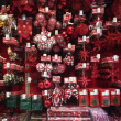 Stock Photo: Christmas ornaments for sale
