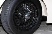 Auto storiche, dettagli, ruote — Foto Stock