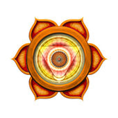 Sacral Chakra Mandala — Stock Photo