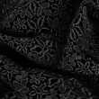 Black lace background — Stock Photo