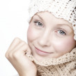 Young womin scarf — Stock Photo #17693521