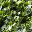 Cut herbs mix — Stock Photo #17693697