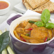 Thai Red Chicken Curry — Stock Photo