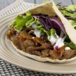 Donner Kebab — Stock Photo