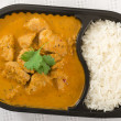 Takeaway Curry — Stock Photo