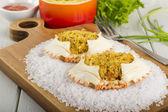 Dressed Crab / Casquinha de Siri — Stock Photo