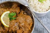 Curry & Rice — Stockfoto