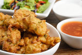 Vegetable Pakora or Bhaji — Stock Photo