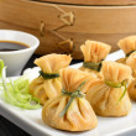 Oriental Deep Fried Wontons — Stock Photo