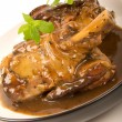 Braised Lamb Shanks — Stock Photo