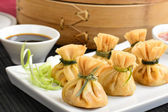 Oriental Deep Fried Wontons — Stock Photo