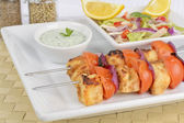 Paneer Tikka Kebab — Stock Photo