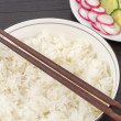 Rice Bowl & Salad - Foto Stock