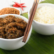 Beef Rendang & Sticky Rice — Stock Photo #15603099
