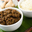 Beef Rendang & Sticky Rice — Stock fotografie