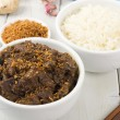 Beef Rendang & Sticky Rice — Foto de Stock