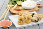 Oriental Snacks — Stock Photo