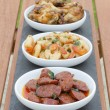 Spanish Tapas — Stock Photo