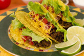 Beef Tacos — Stock Photo