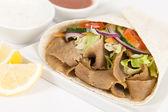 Donner Kebab Wrap — Stock Photo
