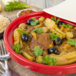 Chicken Tagine - Stock Photo