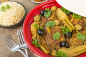 Chicken Tagine — Stock Photo
