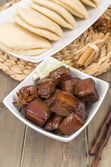 Red Cooked Pork — Stock Photo