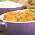 Lamb and Sweet Potato Peanut Curry — Stock Photo #21188361
