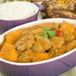Lamb and Sweet Potato Peanut Curry — Stock Photo #21188735