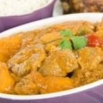 Lamb and Sweet Potato Peanut Curry — Stock Photo #21188973