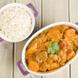 Stock Photo: Lamb and Sweet Potato Peanut Curry