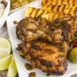 Jerk Chicken — Stock Photo