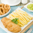 Fish & Chips — Stock Photo