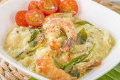 Prawn Molee — Stock Photo
