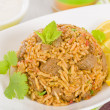 Mutton Byriani — Stock Photo