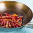 Red Dried Chillies — Stock Photo