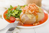 Jacket Potato — Stock Photo
