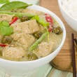 Gaeng Khiao Wan Gai — Stock Photo