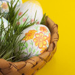 Easter eggs . — Stock Photo