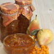 Pear-buckthorn jam — Stock Photo