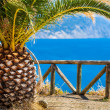 Outlook at the Mediterranean Sea Bay — Stock Photo