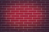 Background of a Dark Red Brick Wall — Stock Photo