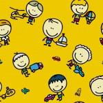 Kids pattern — Stock Vector #15636519
