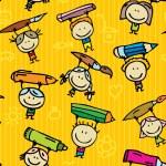 Kids pattern — Stock Vector #15636105