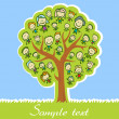 Royalty-Free Stock Vector Image: Kids tree