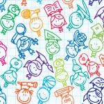 Kids pattern — Stock Vector #15636207