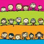 Kids border — Stock Vector #15636289