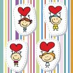 Love children — Stock Vector #15636361