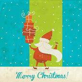 Kartki świąteczne tło wektor — Wektor stockowy