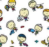 Children pattern — Stock Vector